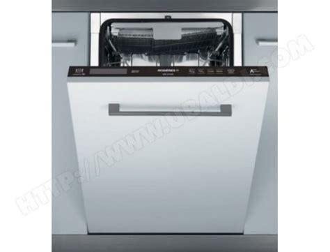 lave vaisselle integrable 45 cm rosieres rdi2t1145 lave vaisselle tout integrable 45 cm