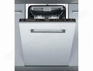 Lave Vaisselle Tout Integrable : rosieres rdi2t1145 lave vaisselle tout integrable 45 cm ~ Nature-et-papiers.com Idées de Décoration