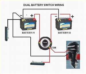 Boat Dual Battery Switch Wiring Diagram