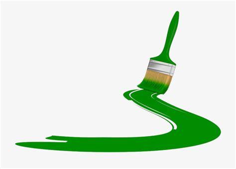 green paint brush paint clipart brush clipart brush png