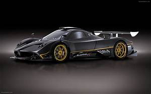 Pagani Zonda R 2009 Widescreen Exotic Car Wallpaper #03 of