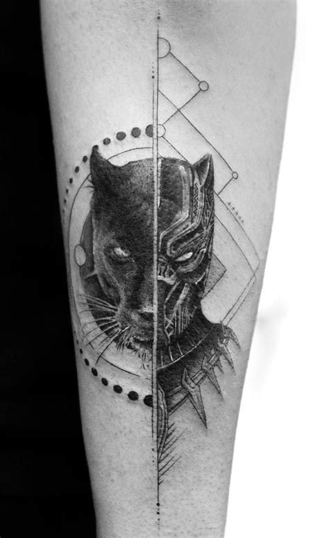 Stunning Realistic Fine Line Tattoos by Balazs Bercsenyi | Fine line tattoos, Black panther