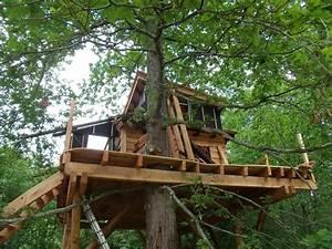 Cabane Dans Les Arbres Construction : cabanes dans les arbres 64 le chantier continu cabanes dans les arbres 64 cabanes perch es 64 ~ Mglfilm.com Idées de Décoration