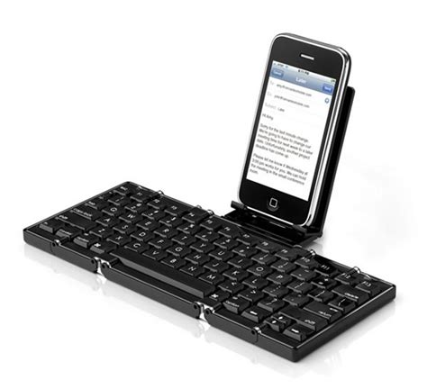 iphone keyboard meet jorno the folding bluetooth keyboard for the iphone