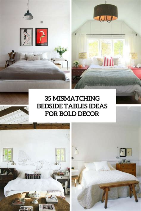 Mismatching Bedside Tables Archives Digsdigs