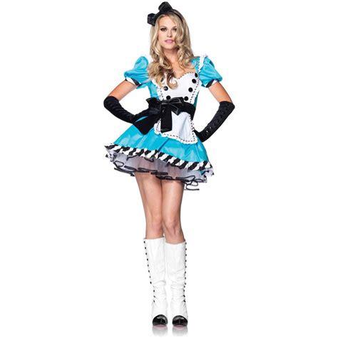 Alice In Wonderland Sassy Queen Adult Halloween Costume