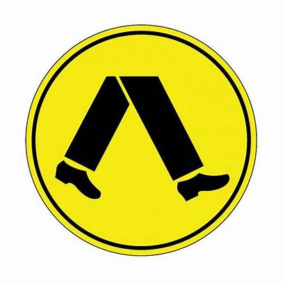 Pedestrian Crossing Sign Signs Road Parking Trafic