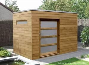 Abri De Jardin Toit Plat Pas Cher : chalet de jardin toit plat cabanes abri jardin ~ Mglfilm.com Idées de Décoration