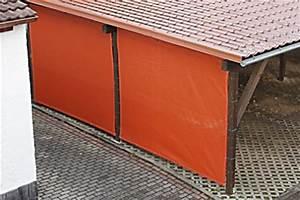 Carport Mit Plane : carport seitenw nde verkleiden mit pvc plane oder windschutznetz ~ Sanjose-hotels-ca.com Haus und Dekorationen