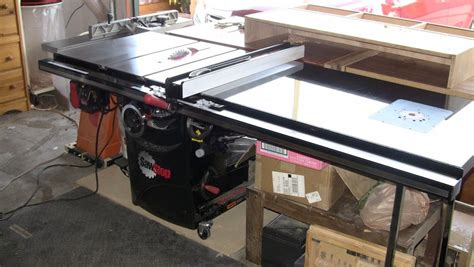 Sawstop Cabinet Saw Dimensions by Review Professional Cabinet Saw W Mobile Base And 52