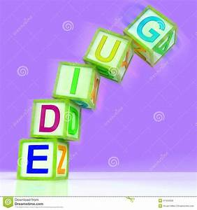 Guide Word Mean Advice Instructions Or Manual Stock Illustration