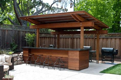 Homemade Outdoor Bar Ideas