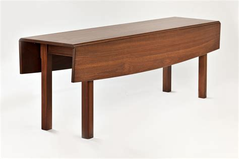 expandable dining table plans crafted walnut drop leaf dining tabel by downing