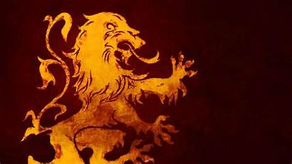 Lannister Lion Fire Thrones Ice Sigils Song