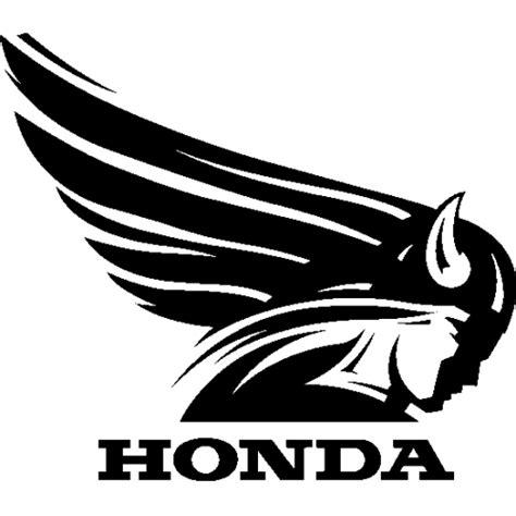 Sticker Et Autocollant Honda Old Aile Droite