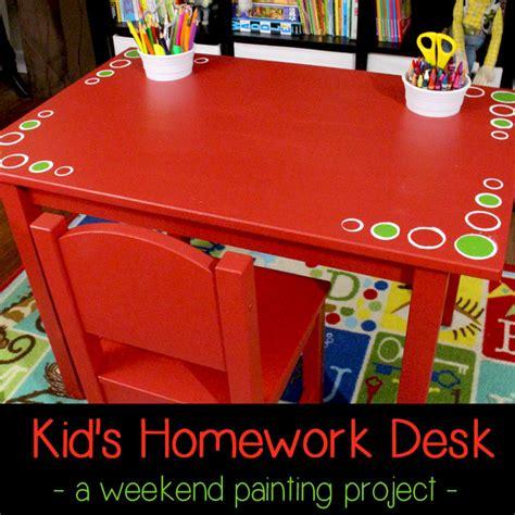 diy kids homework desk ikea hack  sisters crafting