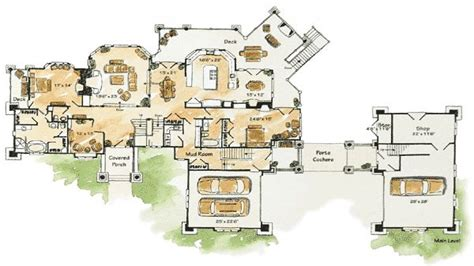 home plans luxury mountain home floor plans luxury mountain home