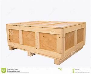Caisse En Bois : caisse en bois de grande cargaison image stock image ~ Nature-et-papiers.com Idées de Décoration