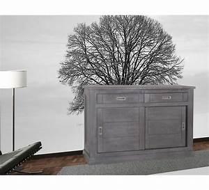 grand bahut chene massif 3701 With porte d entrée alu avec meuble salle de bain en bois avec vasque