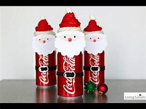 Santa Coke Cupcakes Christmas Party Ideas