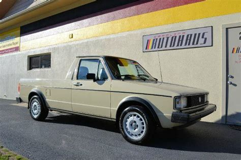 volkswagen rabbit truck 1982 1982 volkswagen rabbit truck turbo diesel german cars