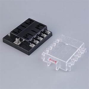 10 Way Circuit Car Atc Ato Blade Fuse Box Block Holder 32v