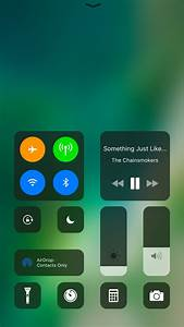 Get The Ios 11 Control Center Interface On Ios 10 With