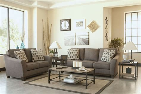Ashley furniture outlet browse all. Ashley Janley Living Room Set in Slate - Masters Buy or Lease