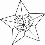 Coloring Star Pages Christmas Outline Stars Shooting Printable Smiling Sheet Happy Wallpapers9 Clker Nautical Getcoloringpages Clip sketch template