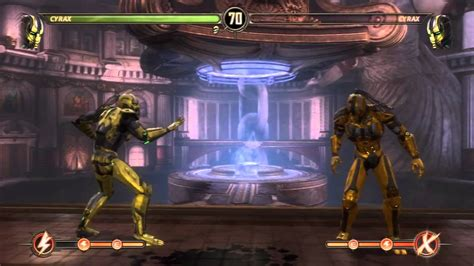 gam3vidz mortal kombat cyrax fatalities and babality