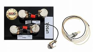 920d Custom Lp50 T Upgraded Replacement Les Paul Wiring