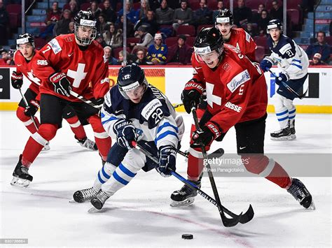 Ilves page) and competitions pages (nhl, shl and more than 5000 competitions from 30+ sports around the world) on. Arttu Ruotsalainen of Team Finland and Livio Stadler of Team... News Photo - Getty Images