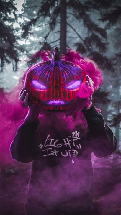 Halloween Iphone Coming Wallpapers Iphoneswallpapers Pumpkin Scary