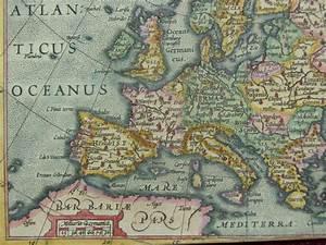 Coloring Map Of Europe Mercator1609