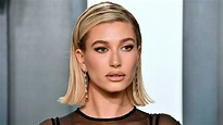 Hailey Bieber Bleached Her Brows for the April Cover of ...