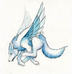 Animated Wolves With Wings images