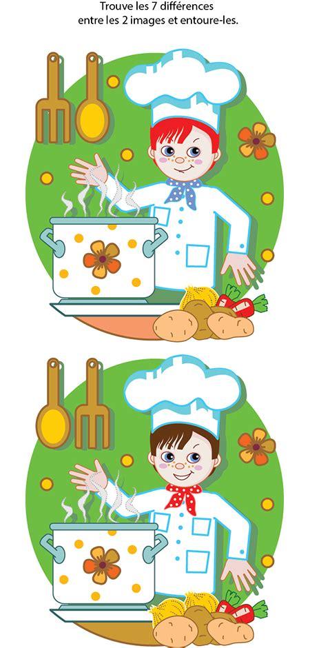 le jeu de cuisine jeu des 7 erreurs à imprimer tipirate