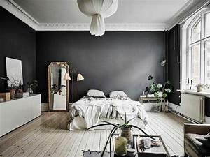 idees chambre a coucher design en 54 images sur archzine With sol gris quelle couleur pour les murs 5 quelle couleur salle de bain choisir 52 astuces en photos