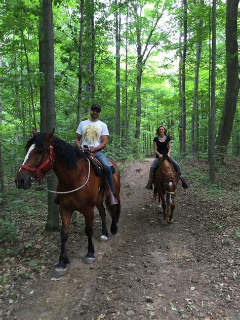 horseback trail ride riding horse trails toronto valley rides pleasure pathways lessons