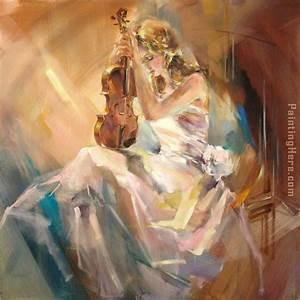 Anna Razumovskaya Romance with a Violin painting anysize ...