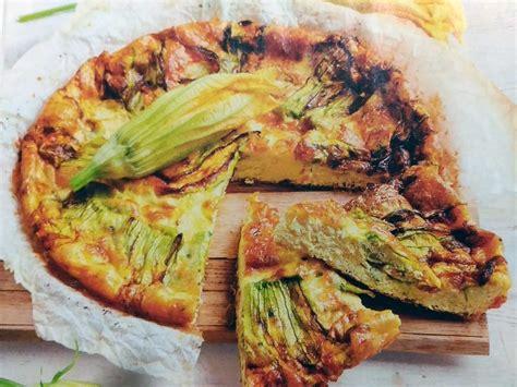 frittata fiori di zucca frittata ai fiori di zucca qualcosa di cucina