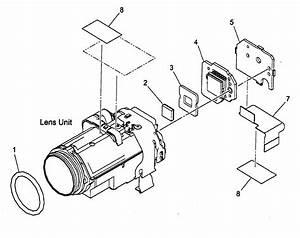 Canon Digital Video Camera Camera Unit Parts