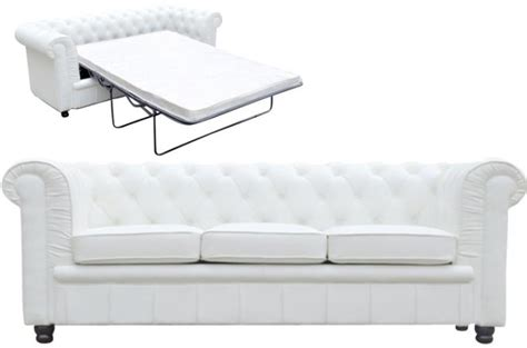 canape chesterfield blanc canapé chesterfield blanc convertible avec matelas