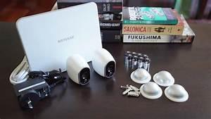 Using Netgear Arlo Smart Home Security cameras