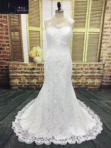 Aliexpress Com   Buy Vintage Lace Mermaid Wedding Dresses