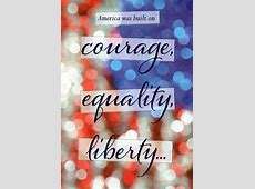 America Built on Courage Military Soldier Thank You