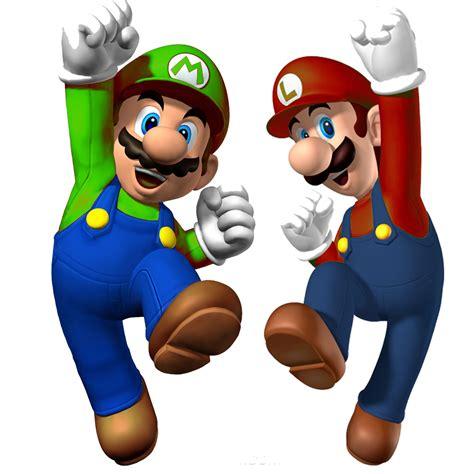 Luigi Bros Para Colorear