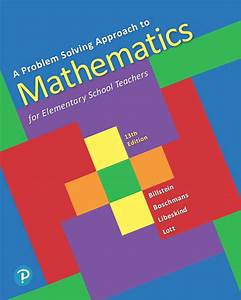 A Problem Solving Approach To Mathematics For Elementary