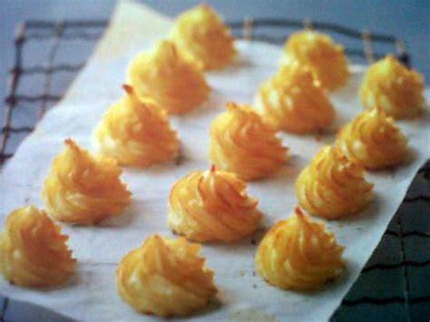 recette de cuisine pomme de terre recette de pomme duchesse