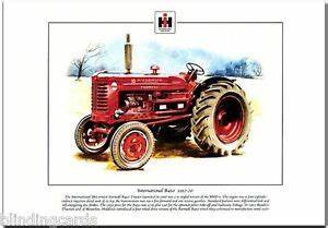International Mccormick Farmall B450 Tractor - Fine Art Print